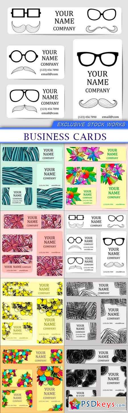 Business cards 10X EPS