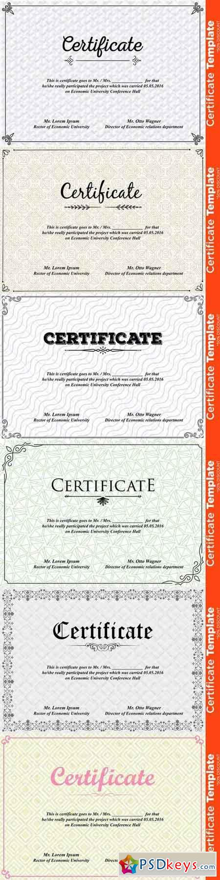 Certificate template psd 677908 free download photoshop for Download certificate template psd