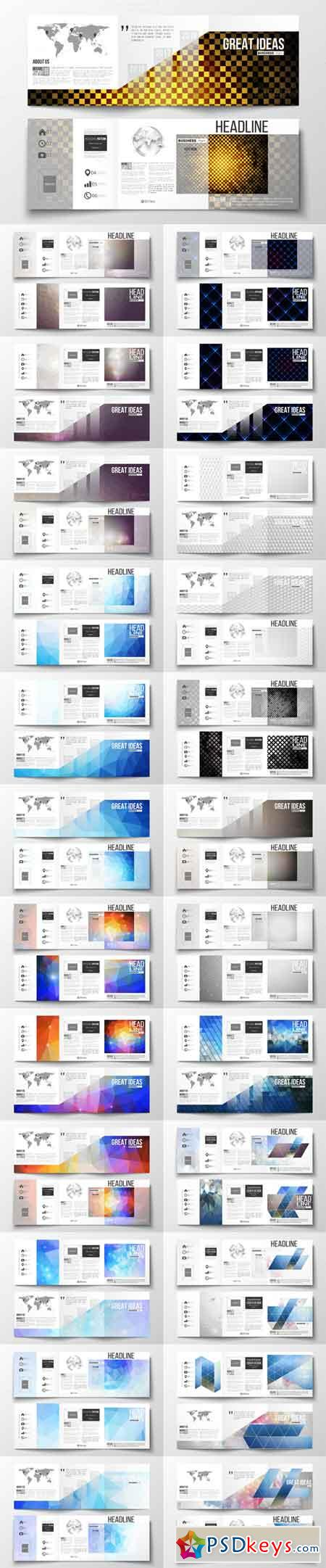 Bundle of 25 brochure templates 671115
