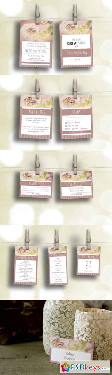 Wedding Set - Invitation & Branding 689899