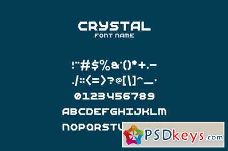 Crystal Font 686237