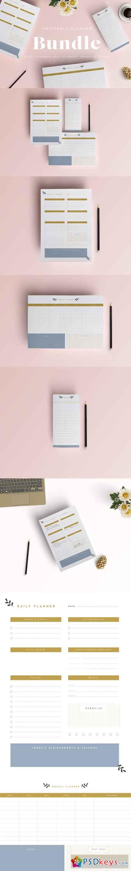 Printable Planner Bundle 678449