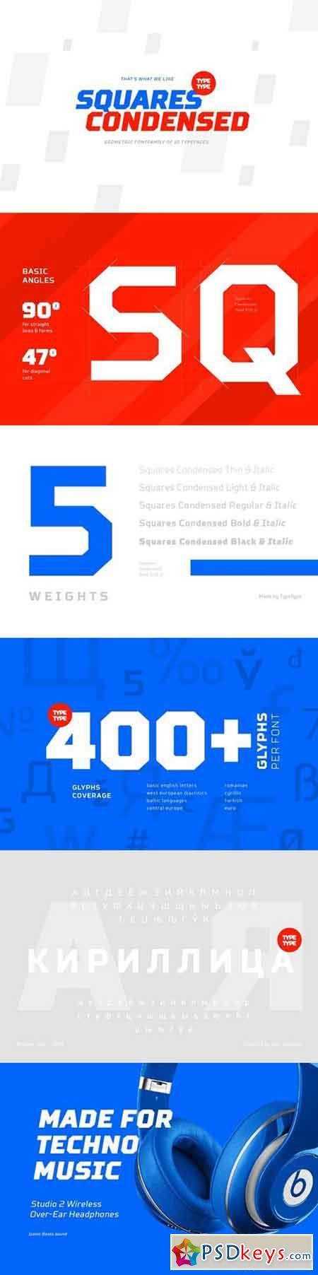 TT Squares Condensed 701473