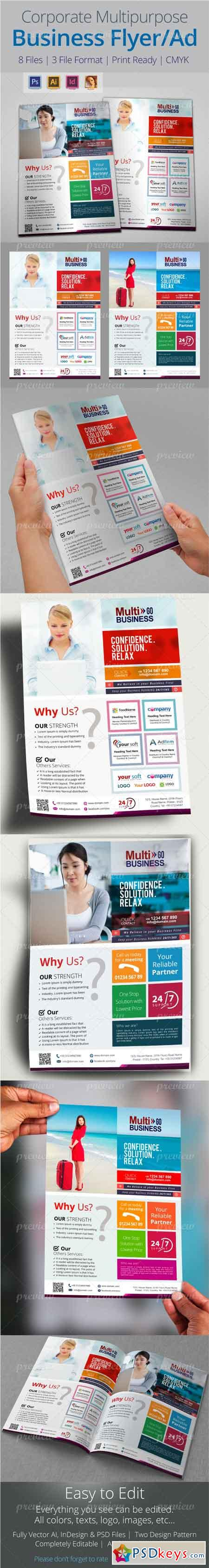 corporate multipurpose business flyer ad templates  corporate multipurpose business flyer ad templates 4794