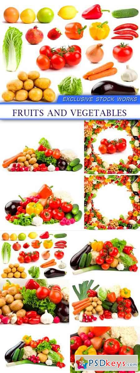 Fruits and vegetables 10X JPEG