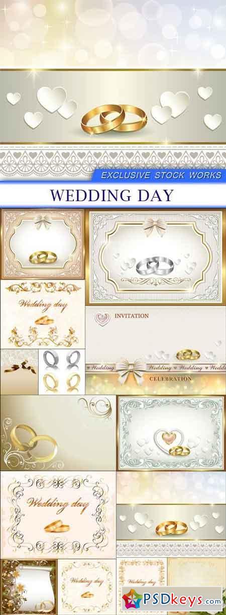 Wedding day 14X EPS