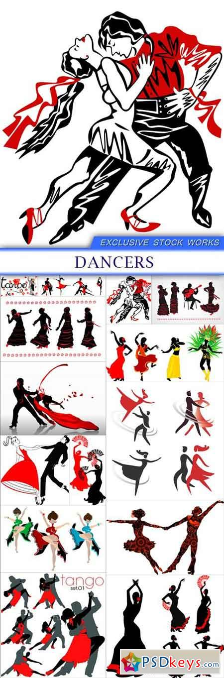 Dancers 14X EPS