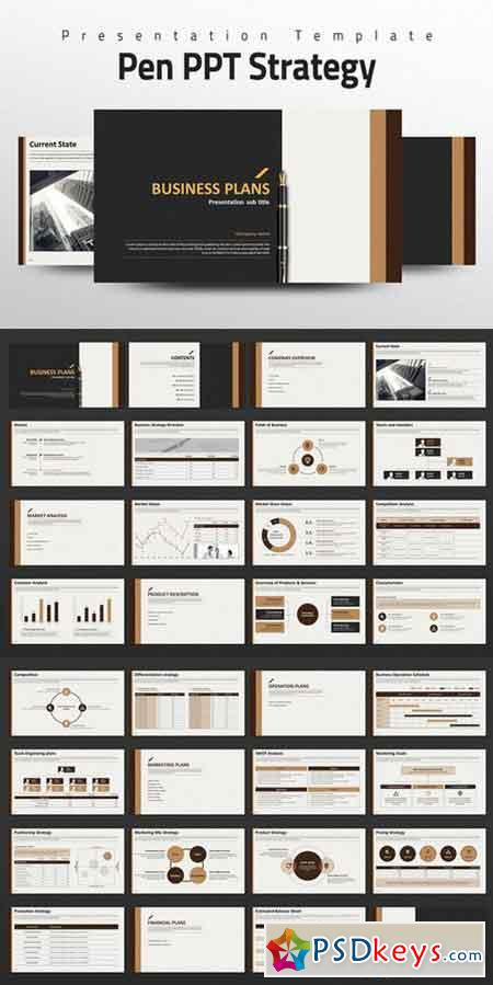 powerpoint templates torrents - pen ppt strategy powerpoint templates 535599 free