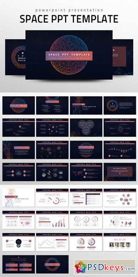 powerpoint templates torrents - space ppt template 566826 free download photoshop vector