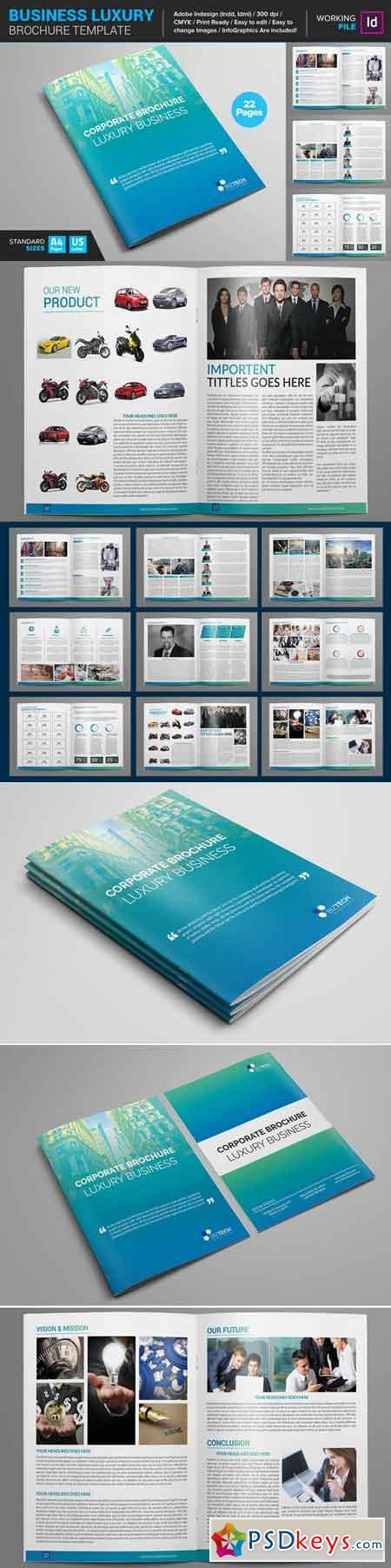 Business luxury brochure template 661817 free download for Luxury brochure template