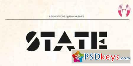 State Font Family