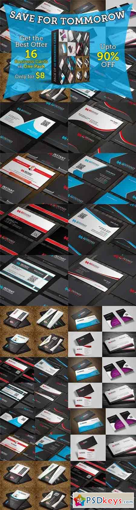 Business Card Pack 1 684857