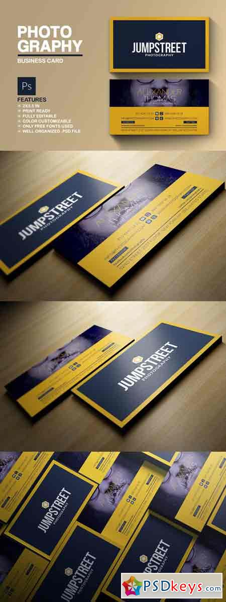 Photography Business Card 691529