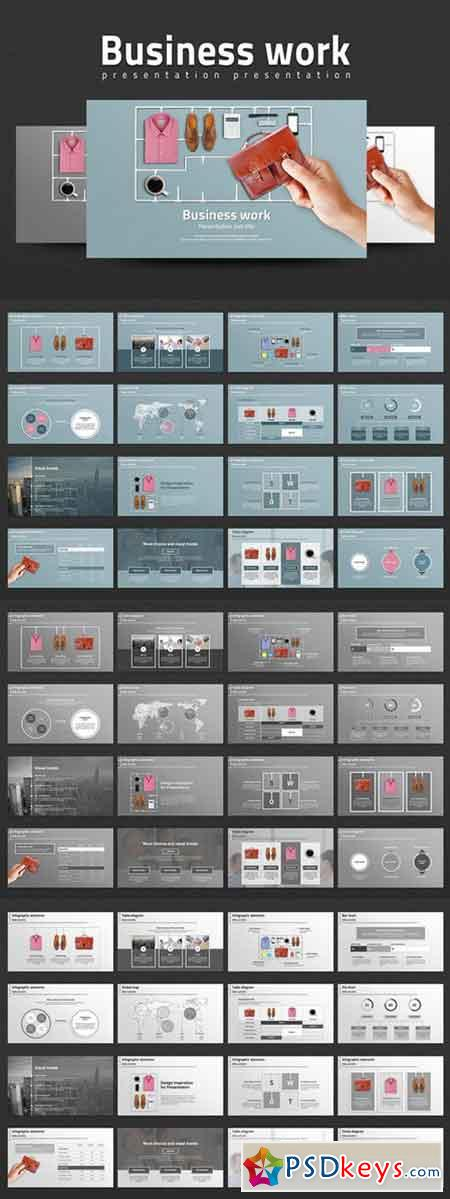 Business Work PowerPoint Templates 332887