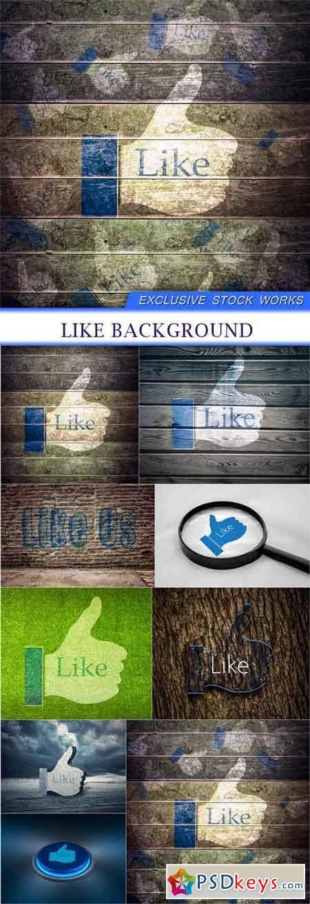 Like Background 9X JPEG