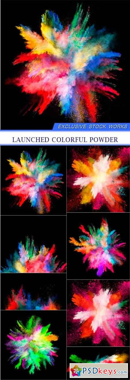 Launched colorful powder 8X JPEG