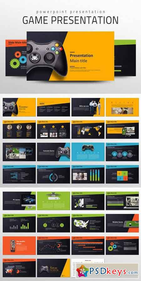 Game Presentation Template 686209