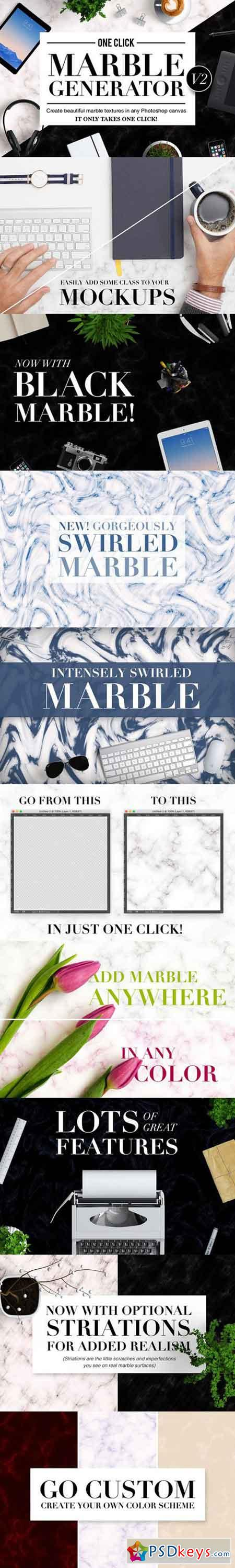 OneClick Marble Texture Generator V2 591150