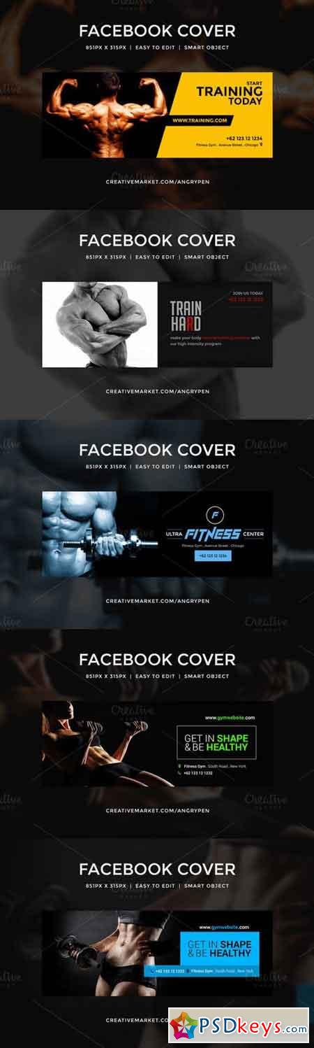 Gym Workout facebook covers 686586
