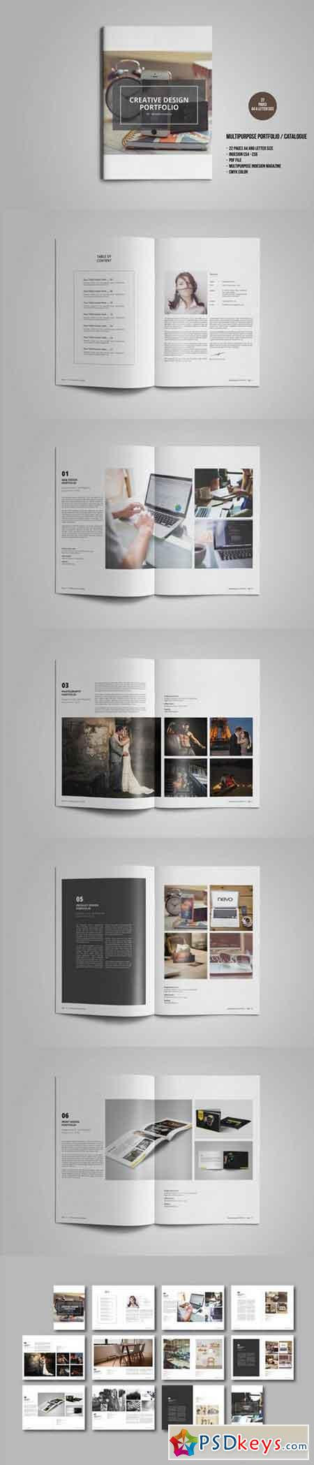 Multipurpose Portfolio Catalogue 714093