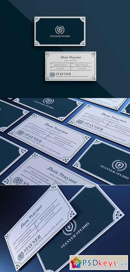 Elegant Business card #43 706311