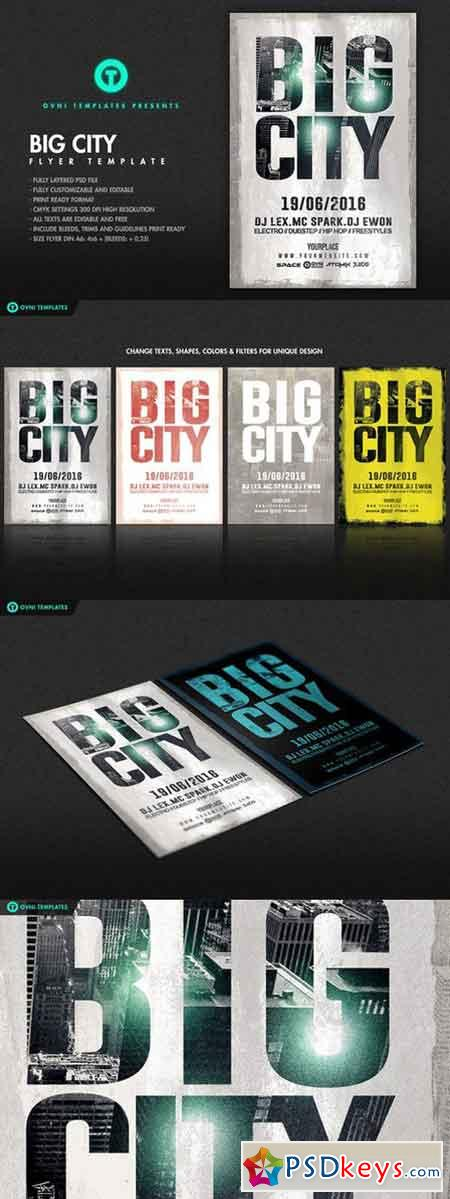 BIG CITY Flyer Template 691939