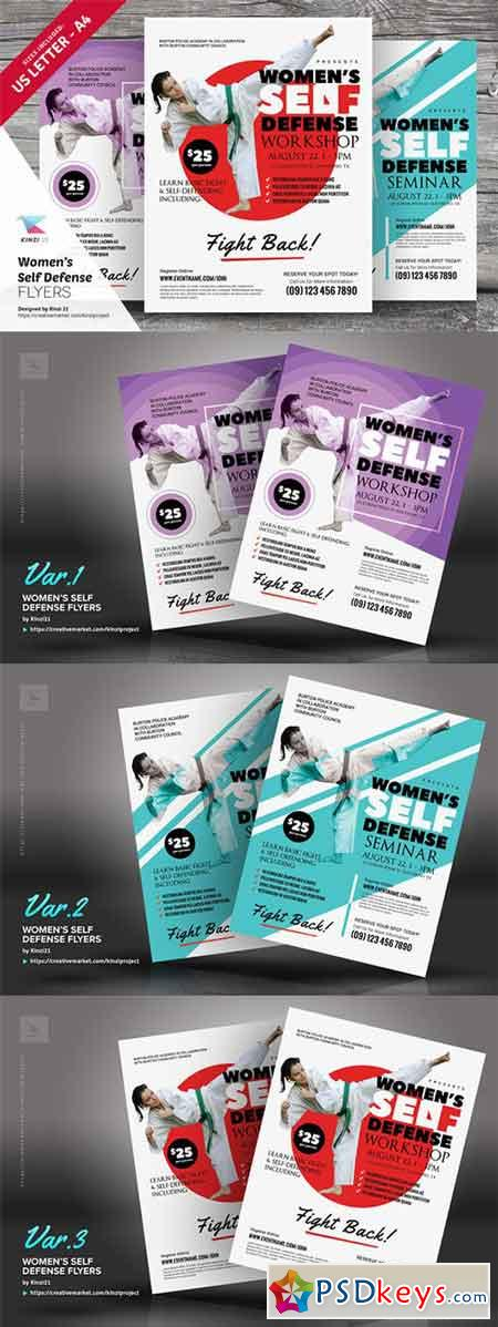 WomenS Self Defense Flyer Templates   Free Download