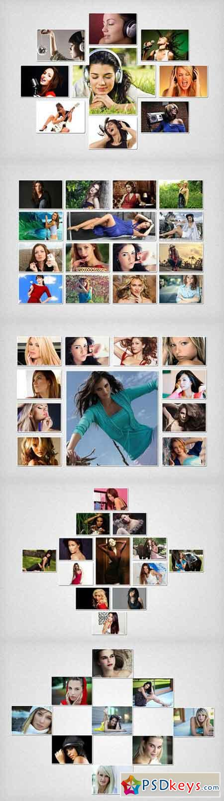 Photo Collage Template 03 730806