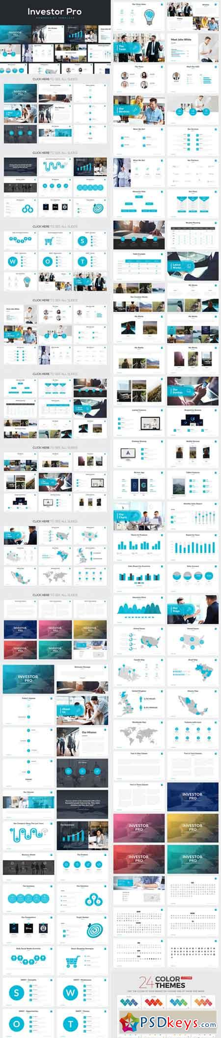 Investor Pro Powerpoint Template 727834