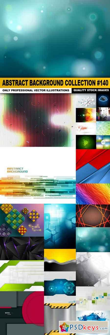 Abstract Background Collection #140 - 25 Vector