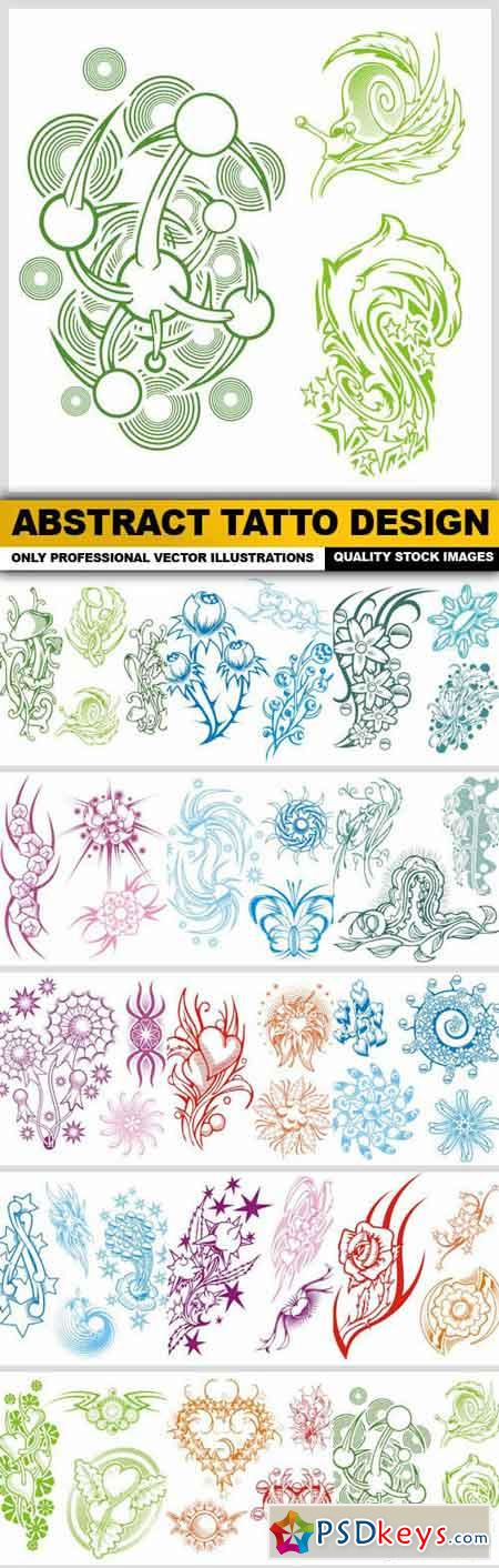 Abstract Tatto Design - 15 Vector