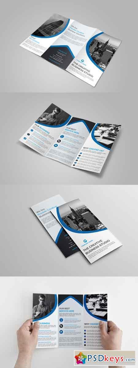 Corporate Tri-Fold Brochure 707785