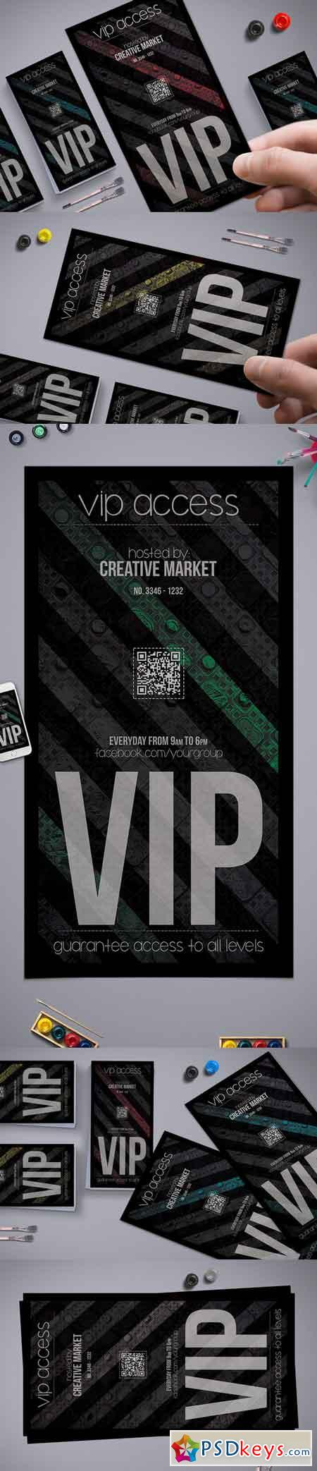 Mystical Atmosphere Vip Pass 707155