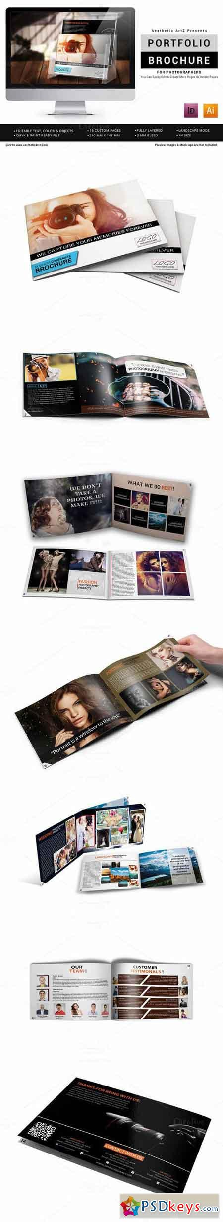 Photographer Portfolio Brochure 688129