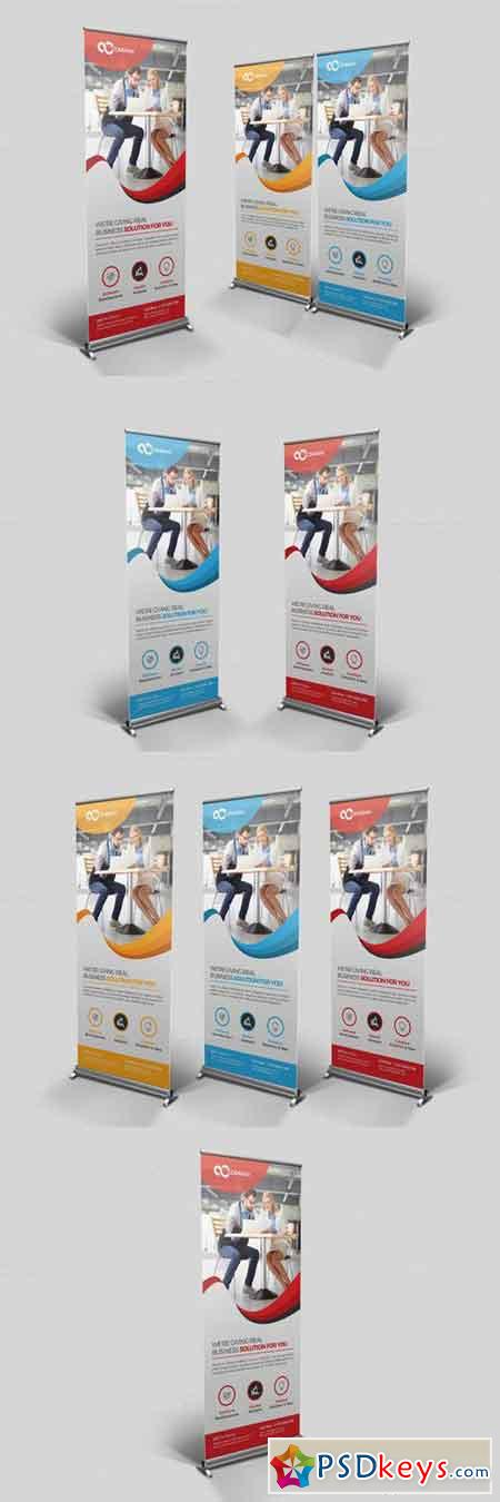 Multipurpose Roll Up Banner 694330
