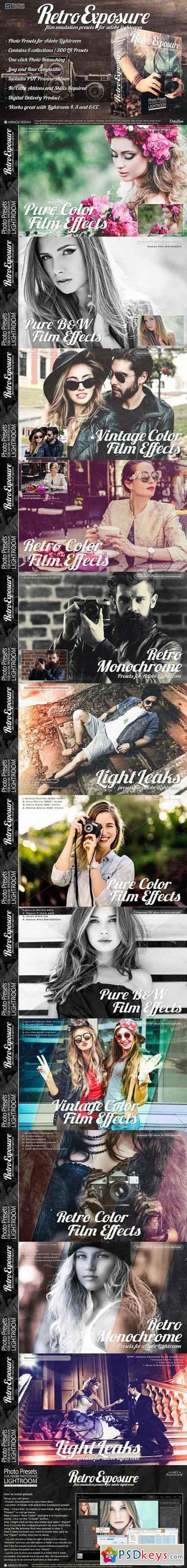 Presets for Lightroom Retro Exposure 735149 » Free Download