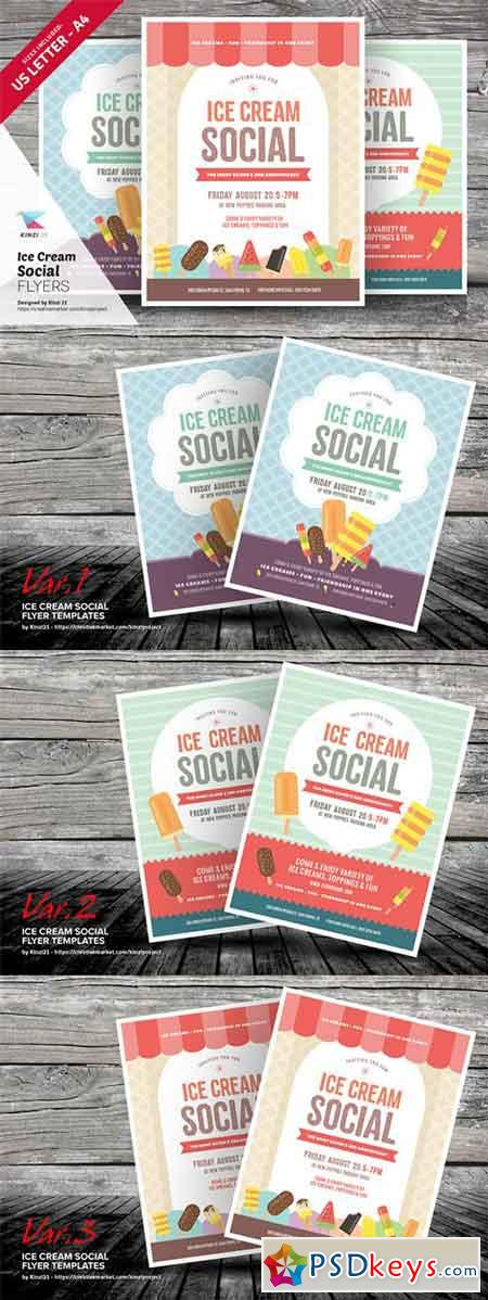 free ice cream social flyer template recet productoseb co