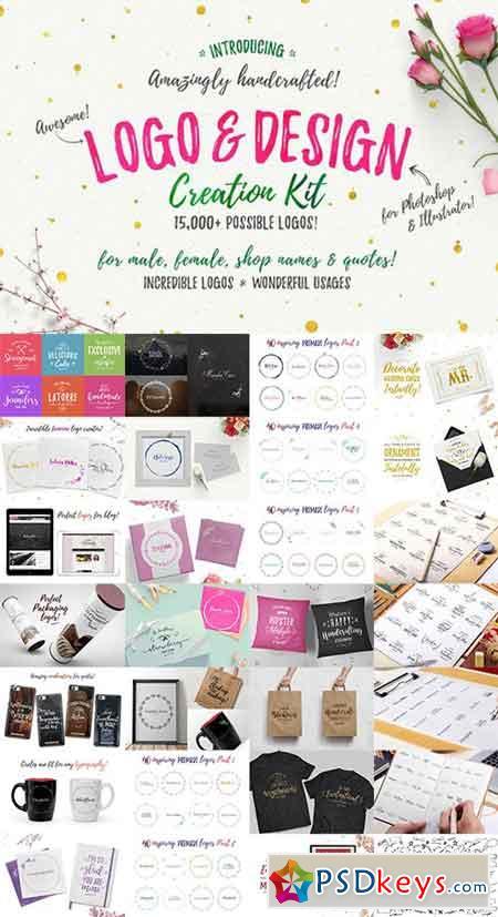 Awesome Logo & Design Creation Kit 735780 » Free Download