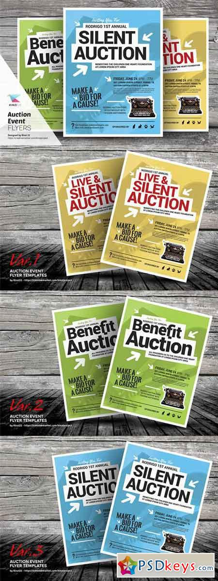 Auction Event Flyer Templates 692236 Free Download