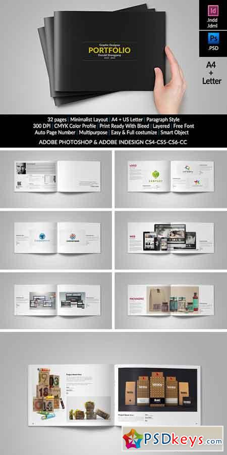 graphic designer portfolio template free download graphic design portfolio template 336440 free download