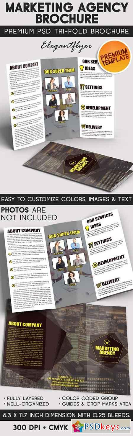 Brochures page 12 free download photoshop vector stock for Marketing brochure template