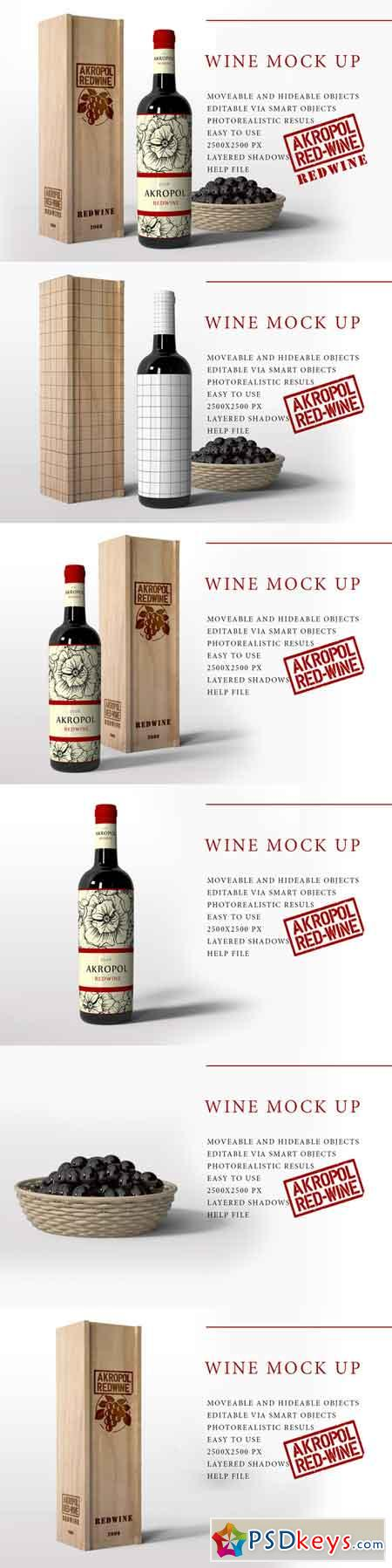 Wine Mock Up 724699