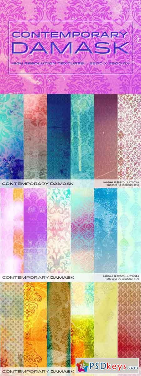 Contemporary Damask 151940