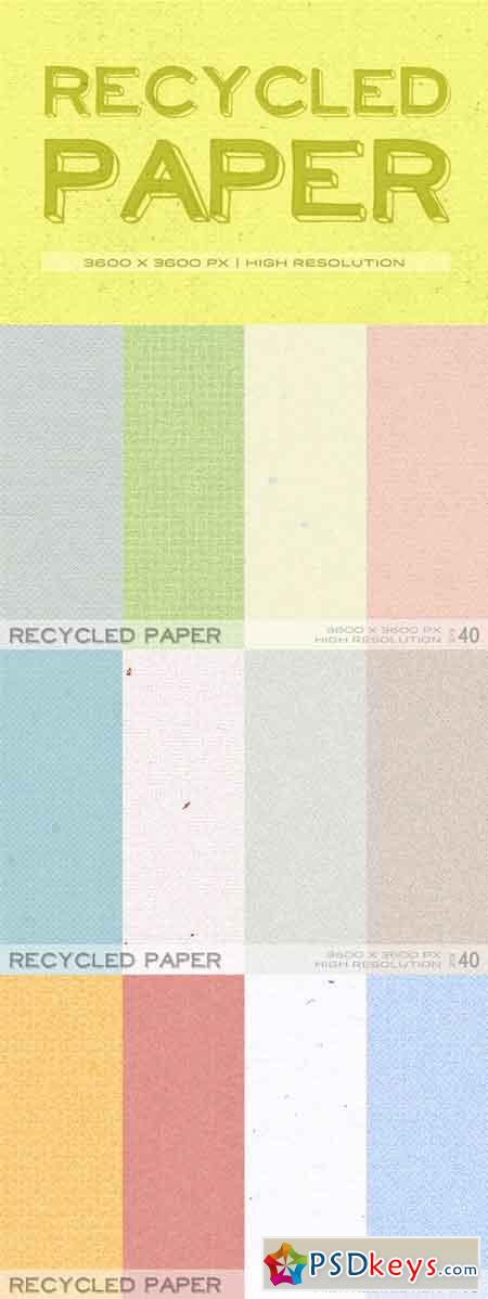 Recycled Paper 9735