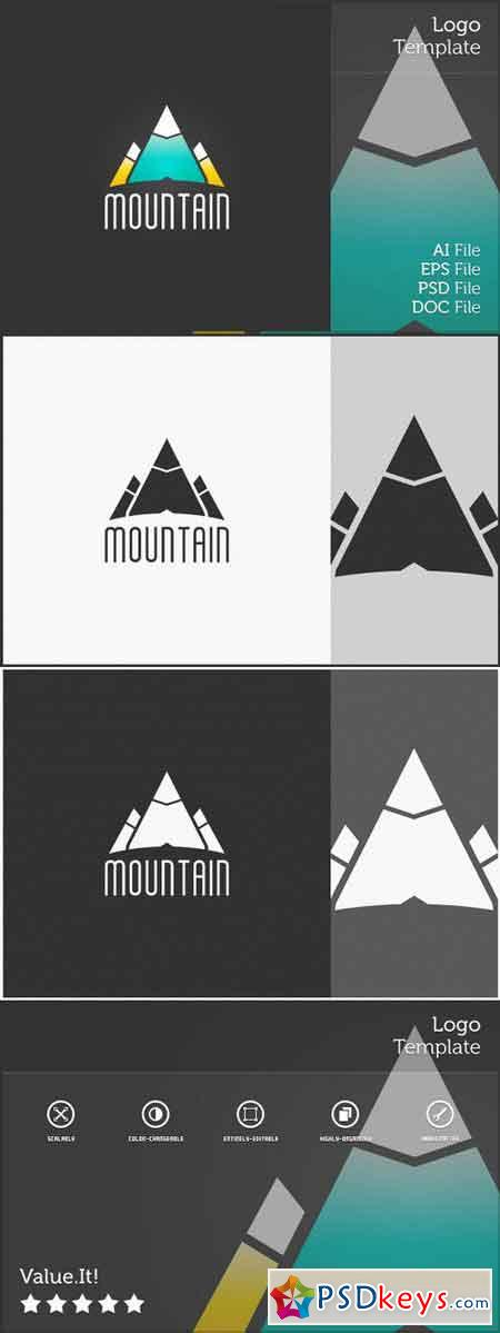 Mountain Logo Symbol 73769