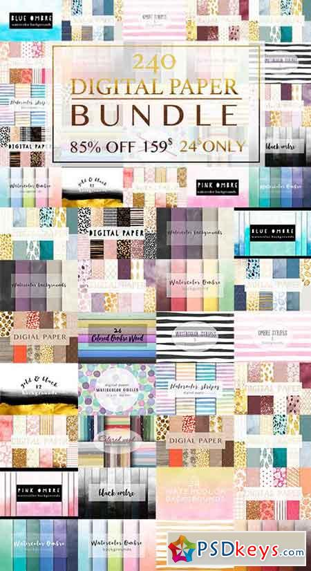 Digital paper BUNDLE 659133
