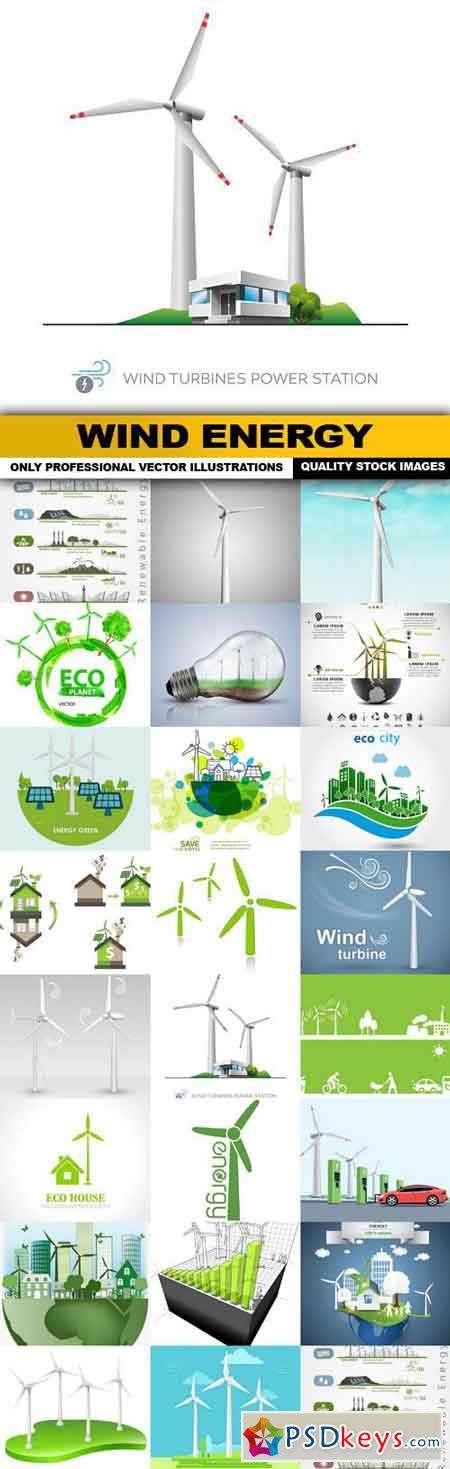 Wind Energy - 23 Vector