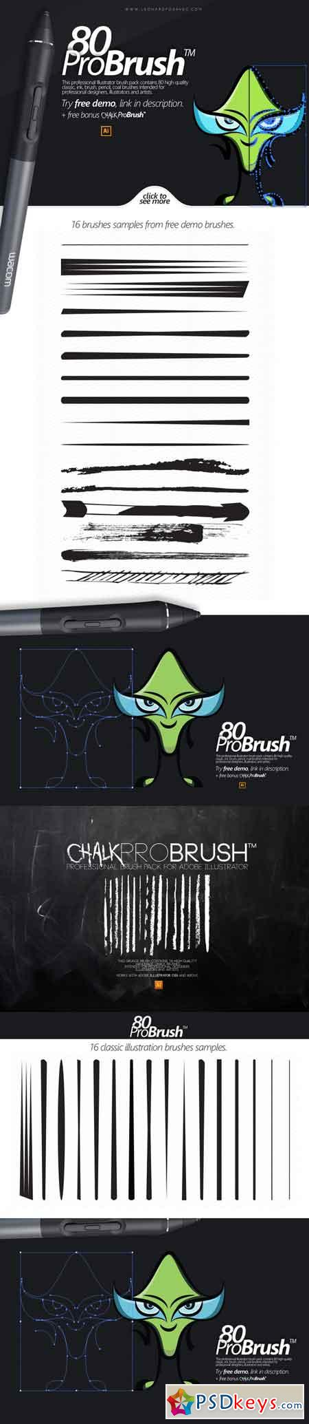 80 ProBrush™ + Free Demo 85058