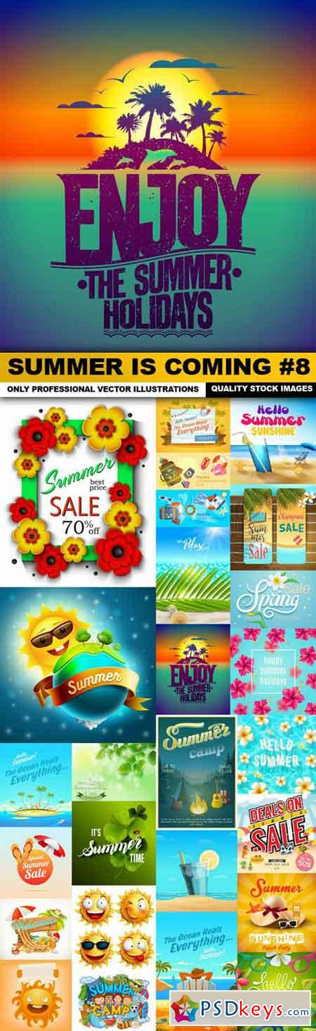 Summer Is Coming #8 - 25 Vector