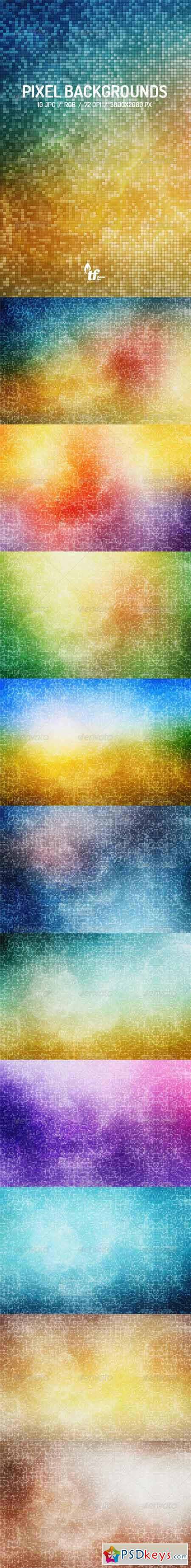 10 Pixel Backgrounds 7795131